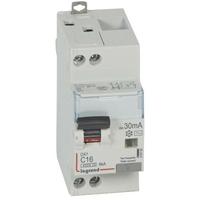 LEGRAND - Disjoncteur différentiel DX 4500 - vis/vis -U+N 230V alternatif 16A - typeAC -30mA -courbe C - 2M - Ref - 410705