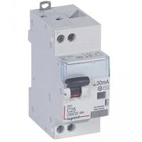 LEGRAND - Disjoncteur diff DX 4500 - vis/vis -U+N 230V alternatif 25A - typeAC -30mA -courbe C - 2M - Ref - 410707