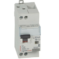 LEGRAND - Disjoncteur diff DX 4500 - vis/vis -U+N 230V alternatif 32A - typeAC -30mA -courbe C - 2M - Ref - 410708