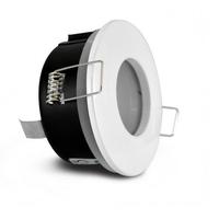 MIIDEX - Support de spot BBC Rond Etanche Blanc Ø82 x 59 mm IP65 - REF - 7721