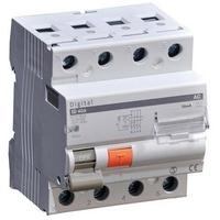 DIGITAL ELECTRIC - Interrupteur Différentiel Tétrapolaire 63A - 4 modules Type AC - Réf -03434