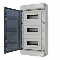 DIGITAL ELECTRIC - Coffret Etanche IP65 - 3x12 Modules - Réf - 07122
