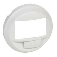 LEGRAND - Enjoliveur Céliane - pour écodétecteur avec dérogation - blanc - REF 068026