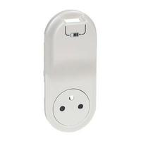 LEGRAND - Enjoliveur Céliane - prise 2P+T Surface + chargeur USB semi encastré - blanc - REF 068116