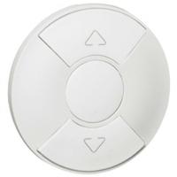 LEGRAND - Enjoliveur Céliane - pour interrupteur volets roulants 6A - blanc - REF 068151