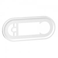 LEGRAND - Enjoliveur Céliane - blanc pour thermostat ou programmateur chauffage - REF 068242