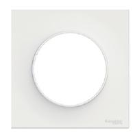 SCHNEIDER ELECTRIC - Odace Styl, plaque Blanc 1 poste - REF S520702