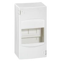 Coffret cache-bornes 4 modules blanc RAL9010 LEGRAND - Ref 001304