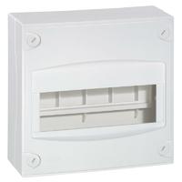 Coffret capacité mini 8 à 9 modules blanc RAL9010 LEGRAND - Ref 001308