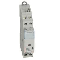 LEGRAND Contacteur de puissance CX³ bobine 230V~ sans commande manuelle - 2P 250V~ - 16A - contact O+F - 1 module Réf 412521
