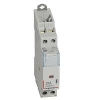 LEGRAND Contacteur de puissance CX³ bobine 230V~ sans commande manuelle - 2P 250V~ - 25A - contact 2O - 1 module Réf 412524