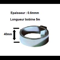 TONNA - Feuillard acier Galvanisé - Bobine de 5 m - Réf 509260