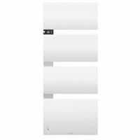 THERMOR Radiateur Sèche-serviettes Symphonik Mât à gauche 750+1000W - Ref SymphonikGauche
