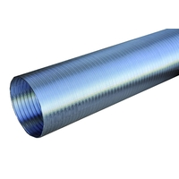 NATHER Conduit semi-rigide en aluminium Ø 125 - Ref 546099