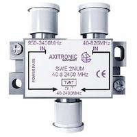 CAE - Coupleur/découpleur pour signaux TV/SAT canaux 21/48 - Réf - SWE2NUM
