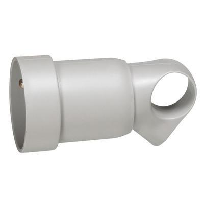 LEGRAND - Prolongateur plastique 2P+T 16A à anneau - gris - Réf - 050425