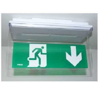 ZEMPER - Kit Porte étiquette saillie plafond - Réf - 90095NMF
