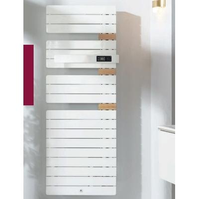 THERMOR - Radiateur sèche serviette - Allure 3 - 1750W Mât à gauche - Avec soufflerie - Blanc - Ref 483244