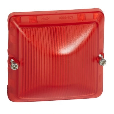 LEGRAND - Diffuseur pour lampe rouge Plexo composable IP55 - gris et blanc - REF 069591