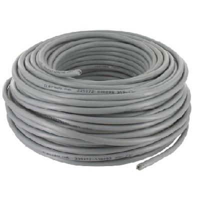 CAE - Câble d'alimentation souple harmonisé 3G1.5mm² - Gris - Couronne 50m - Réf - HO5VV-F3G1.5G