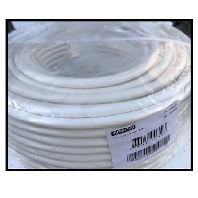CAE - Câble d'alimentation souple harmonisé 4G1.5mm² - Blanc - Couronne 50m - Réf - HO5VV-F4G1.5B