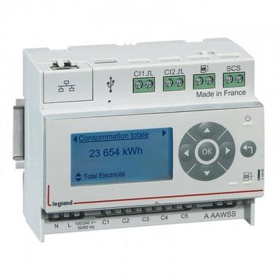 LEGRAND - Ecocompteur - 110-230 V~ - 6 modules-  REF 412000