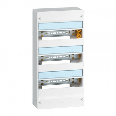 LEGRAND - Coffret Drivia 13 modules 3 rangées - IP30 - IK05 - Blanc - REF 401213
