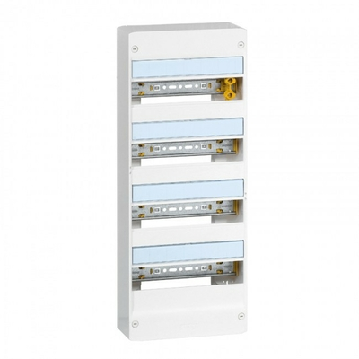 LEGRAND - Coffret Drivia 13 modules - 4 rangées - IP30 - IK05 - Blanc - REF 401214