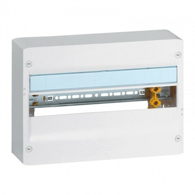LEGRAND - Coffret Drivia 18 modules - 1 rangée - IP30 - IK05 - REF 401221