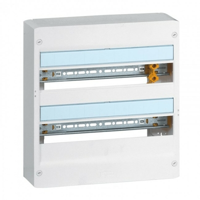 LEGRAND - Coffret Drivia 18 modules - 2 rangées - IP30 - IK05 - Blanc - REF 401222