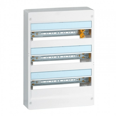 LEGRAND - Coffret Drivia 18 modules - 3 rangées - IP30 - IK05 - REF 401223