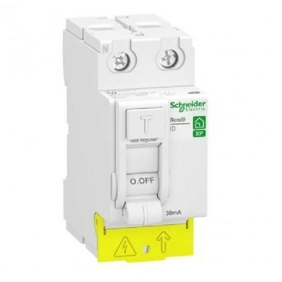 SCHNEIDER ELECTRIC - Interrupteur différentiel - Rési9 XP - Type A-SI - 40A 30MA - REF R9PRS240
