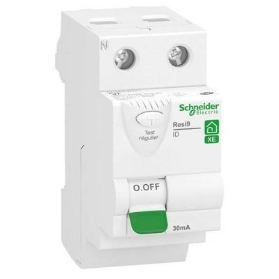 SCHNEIDER ELECTRIC - Interrupteur différentiel Rési9 XE - 40A - 30mA - Asi Embrochable -  REF R9ERS240