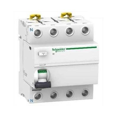 SCHNEIDER ELECTRIC - Acti9, iID interrupteur différentiel 4P - 63A - 30mA - type AC - REF A9R11463