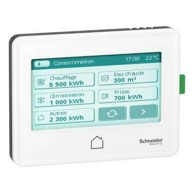 SCHNEIDER ELECTRIC - Wiser Link écran tactile encastrable 3,5 pouces - REF EER22000