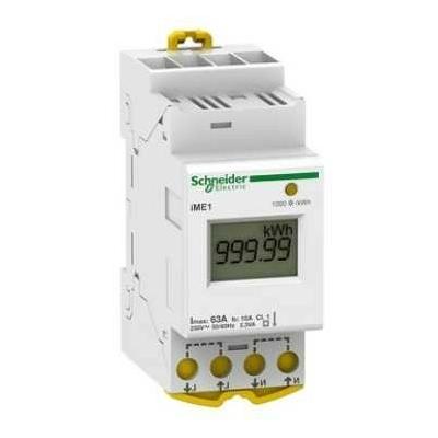 SCHNEIDER ELECTRIC- Acti9 IEM  Compteur d'énergie mono  63A - REF A9MEM2105