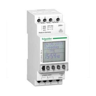 SCHNEIDER ELECTRIC- Multi9, ITA interrupteur horaire annuel 24h/7jours/année - 1 canal - REF CCT15910