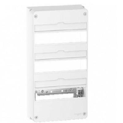 SCHNEIDER ELECTRIC - Rési9 -  Coffret 13 modules 3 rangées - IP30 - 63 A - REF R9H13403