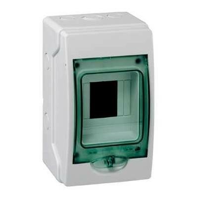 SCHNEIDER ELECTRIC - Coffret étanche mini Kaedra - pour appareillage modulaire - 123 x 200 mm - 4 modules -  REF 13957