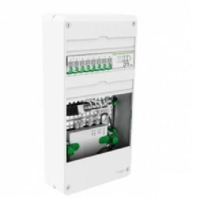 SCHNEIDER ELECTRIC - LexCom Home Essential coffret de communication - 3 Rangées - Grade 2TV Box 6RJ45 -  REF - VDIR390036
