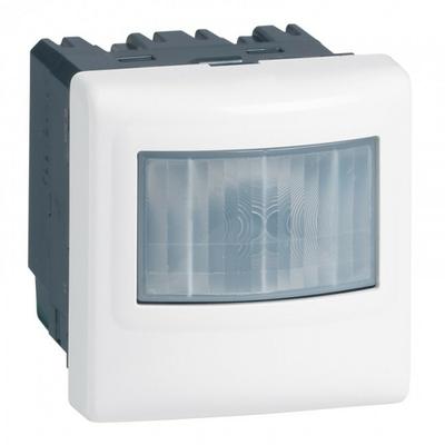 LEGRAND - Ecodétecteur basique 3 fils, avec neutre Mosaic - 2 modules - blanc - REF 078450