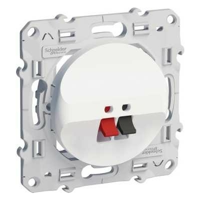 SCHNEIDER ELECTRIC - Odace prise haut parleur 1 sortie - REF S520487
