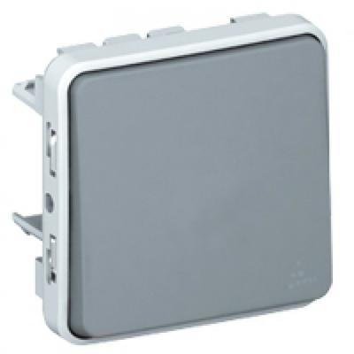 LEGRAND - Va-et-vient Prog Plexo composable gris - 10 AX - REF 069511