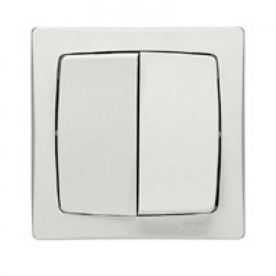LEGRAND - Double va-et-vient - Appareillage saillie complet - blanc - REF 086020
