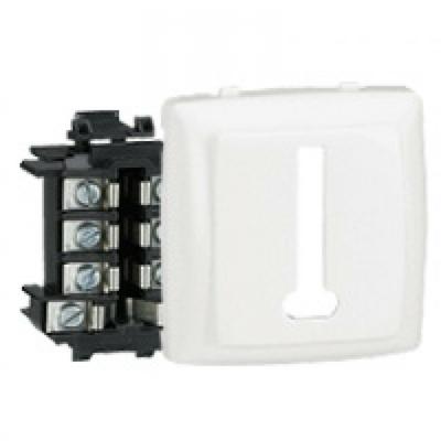 LEGRAND - Prise téléphone 8 contacts appareillage saillie composable - blanc - REF 086138