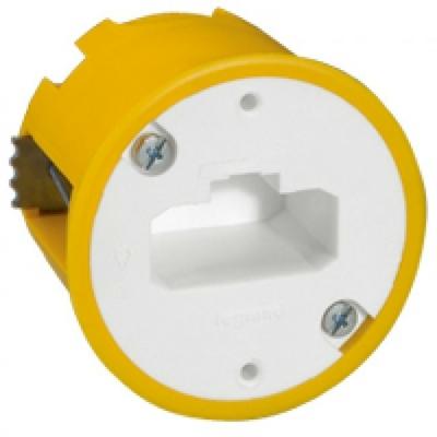 LEGRAND - Boîte luminaire Batibox - cloison sèche - pr applique à bornes auto - prof 40 mm - REF 089304