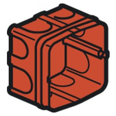 LEGRAND - Boîte Batibox - maçonnerie - pour prise 20 et 32 A - 1 poste - prof. 40 - REF 080184