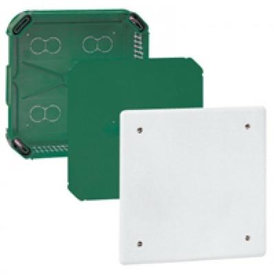 LEGRAND - Boîte complète Batibox pour dérivation - rectangulaire - 175x175x40 mm - REF 089274