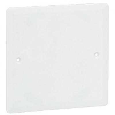 LEGRAND - Couvercle universel Batibox - 80 x 80 - pour boîte 1 poste - REF 089281