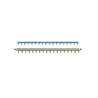HAGER - Barres pontage système SanVis 18 modules - Ref KBS763G